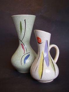 Vintage German vases.