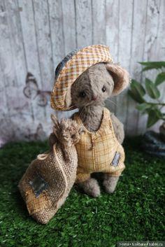 Мышонок Флипп. Автор Виктория Салпагарова.