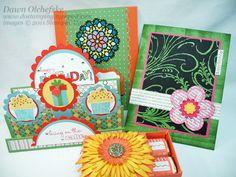 Several Birthday cards