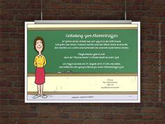 Kostenlose Einladung Klassentreffen