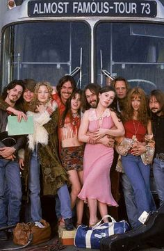 Almost famous. Directed by Cameron Crowe. Amazing.