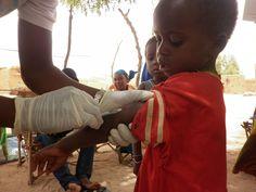 Em Mangaize, região de Tillabery, no Níger, 15.000 pessoas foram vacinadas contra o sarampo, pelos Médicos Sem Fronteiras. Fotografia: Augustin Ngoyi / MSF.