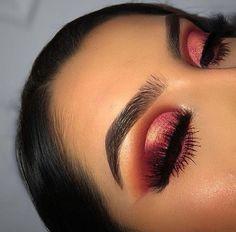 @neptunesazure ♡ #CoconutOilEyebrows Glam Makeup, Baddie Makeup, Skin Makeup, Makeup Inspo, Makeup Art, Makeup Ideas, Makeup Tutorials, Makeup Guide, Makeup Blog