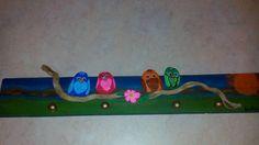 my creations : παιδική κρεμάστρα με βότσαλα και θαλασσόξυλα