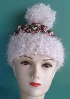 Gorros crochet navidad