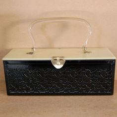 Lucite Bakelite Purse by gayle