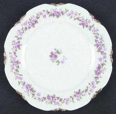 """purple china patterns   498"""" china pattern with scalloped edges & purple ...   China: Havila ..."""