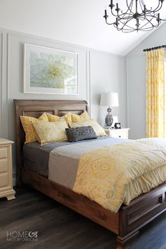 Dream House Tour: Gorgeous bright Master Bedroom