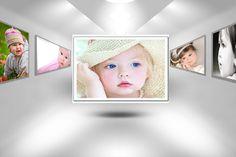 Psd Art frame Background Download