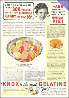 KNOX SPARKLING GELATINE GOOD HOUSEKEEPING 12/01/1934