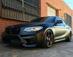 BMW F87 M2 matte black