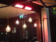 Here we have a 3kW BN Thermic patio heater installed outside a trendy London bar. I got a few strange looks from the customers when I was taking the photo!