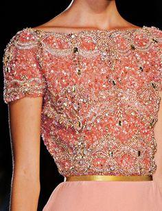 Pink sequins. #sequins #pink #fashion #dress #ideas