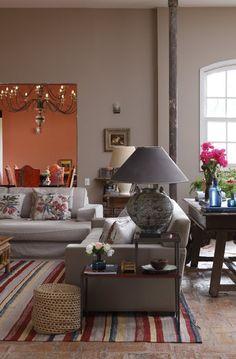 rustic vibe #decor #livingroom #rustic