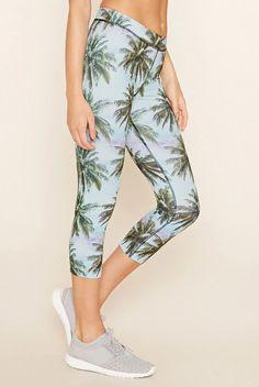 Palm tree leggings.