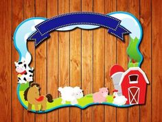 Farm themed party photo frame by wishboxparty on Etsy Farm Animal Party, Farm Animal Birthday, Farm Birthday, 3rd Birthday Parties, Farm Themed Party, Farm Party, Party Photo Frame, Bible School Crafts, Barn Parties