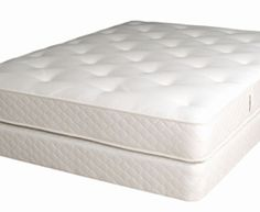 Naturally Organic Innerspring Mattress  New! Now made with wool batting — completely dust-mite free