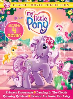★WIN 1 of 2 My Little Pony Classic Movie Collection DVDs from SnyMed.com!  PIN if you remember these vintage ponies!   Enter: http://www.snymed.com/2014/01/my-little-pony-classic-movie-collection.html CAN/USA Ends 3/6