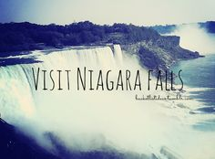 I've been to the Niagara Falls and I can tell you it has so far been one of my favorite places to go too!!!!