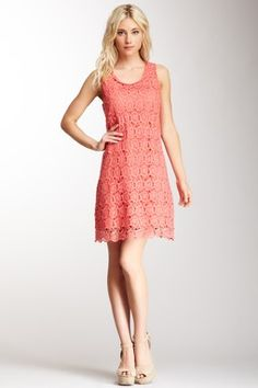 Cotton Crocheted Lace Dress
