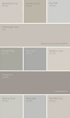 Best gray paint colors Sherwin Williams are not only limited in colors that are considered as true gray options but also greige options. Check out the list of 11 most amazing Sherwin Williams gray paint colors here!