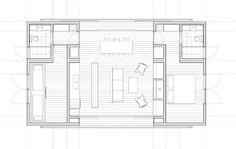 Casa prefabricada en uruguay, y en dos módulos | por MAPA Diy Wooden Projects, Wooden Diy, Container House Plans, Minimal Home, House Floor Plans, Beach House, Minimalism, How To Plan, Design