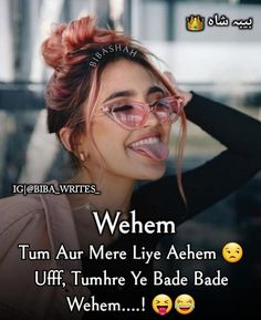 Best Lyrics Quotes, Love Song Quotes, Crazy Girl Quotes, Heart Quotes, Hindi Quotes, True Quotes, Funny Quotes, Funniest Quotes, Funny Pics