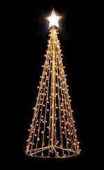 outdoor homemade christmas tree - Google Search
