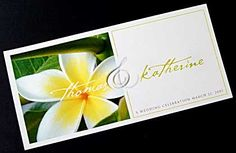 Need an invitation for a wedding in Hawaii? This white frangipani invitation would be ideal. www.kardella.com Wedding Poems, Wedding Messages, Wedding Speeches, Wedding Veils, Wedding Hair, Diy Wedding, Wedding Bouquets, Wedding Reception, Lace Wedding