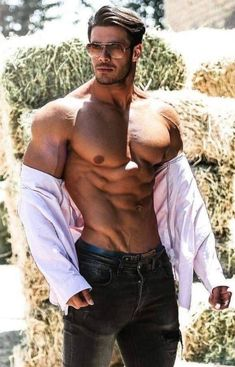 Inspirational Fitness, Gym Crossfit and Yoga apparel by ONE Apparel Muscle Hunks, Muscle Men, Muscle Fitness, Hot Hunks, Shirtless Men, Male Form, Attractive Men, Good Looking Men, Male Beauty