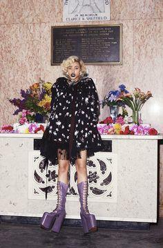Sahara Lin wearing Marc Jacobs Fall'16. Shot by Danielle Levitt, styled by Anna Trevelyan for 10 Magazine