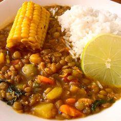 Cuban Lentil Soup Potaje