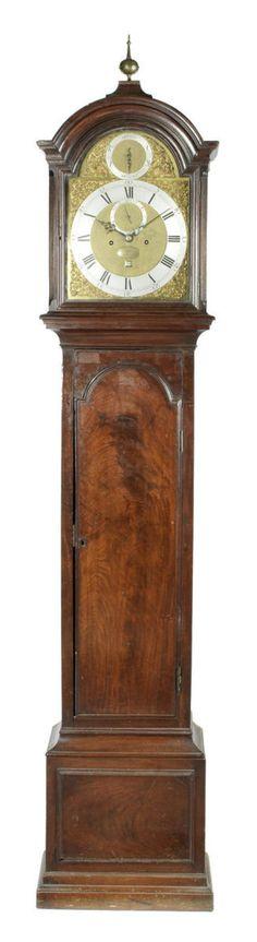 A rare third quarter of the 18th century mahogany longcase clock Thomas Mudge, London