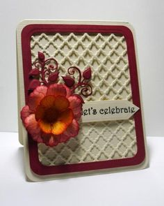 Red Botanical Rose