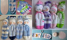 Inspiration for dolls out of sock..