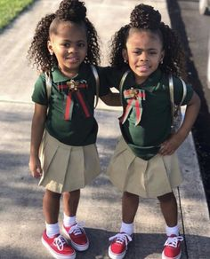 cute uniform ideas for school kids \ cute uniform ideas for school Cute Kids Fashion, Cute Outfits For Kids, Little Girl Fashion, Black Kids Fashion, Family Outfits, Kid Swag, Baby Swag, Beautiful Black Babies, Beautiful Children