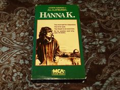 Hanna K. (VHS, 1983) Rare OOP 1st MCA! Jill Clayburgh/Costa Gavras! *NOT ON DVD*