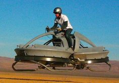 Star Wars Hover bike becomes reality