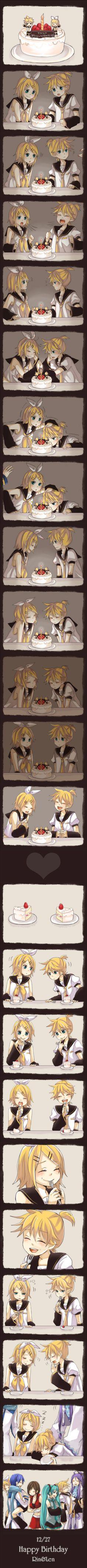 Vocaloid - rin and len