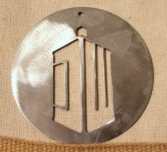 Doctor Who Ornament by StarBeeMetalCraft on Etsy