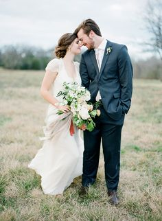 Elegant Winter Wedding in Texas