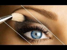"""HOW TO: """"LIFT"""" THE EYE - #lifttheye #eyelift #eyetrick #eyemakeup #eyeshadow #eyetutorial #beautytip"""