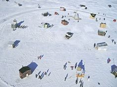 Cool as Ice: 10 Years of Artist-Made Shanties on Frozen Lakes
