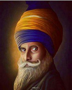 Sikhism Beliefs, Guru Nanak Ji, Punjabi Boys, Birthday Doodle, Warriors Wallpaper, Lion Art, Indian Art, Religion, Spirituality
