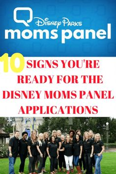 Are you a Disney fan? Do you love helping others plan their Disney vacations? Well here are 10 signs you may be ready for the Disney Parks Moms Panel Application process! With specialties such as Walt Disney World, Disneyland, Disney Cruise Line, and Disney Vacation Club, come apply to be part of the most magical panel on earth.