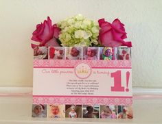 Invite-1year old princess party  12 month photos on shutterfly
