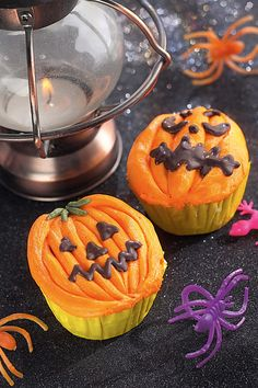 Pumpkin Cupcakes From Decorated By Frances Mcnaughton Http Www Searchpress