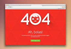 404 error page by Tiago Lopes Page 404, 404 Pages, Web Design, Error Page, Interface Design, Layouts, Construction, Messages, App