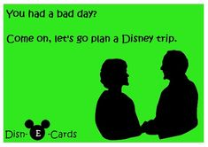 Disney Planning Solves the Blues - Disn-E-Cards