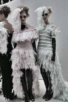 Backstage Chanel Haute Couture Spring-Summer 2013